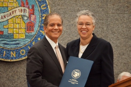 PRECKWINKLE AND COUNTY BOARD HONOR FINCH
